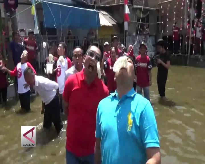 Saat Walikota Bandung Ikut Lomba di Permukiman Padat