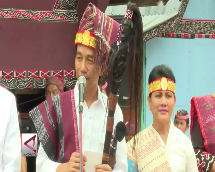 Presiden Janji Membangun Pulau Samosir