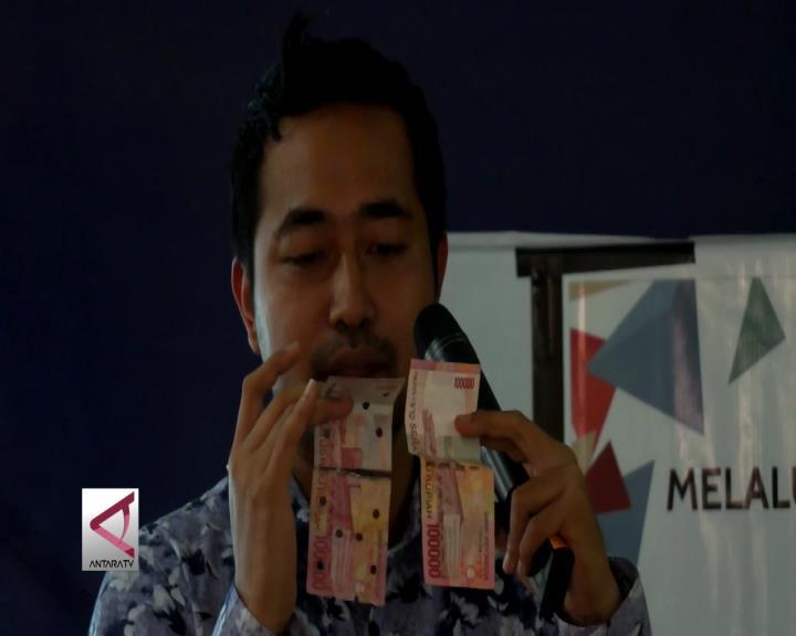 Sosialisasi Ciri Uang Asli ke Pedesaan