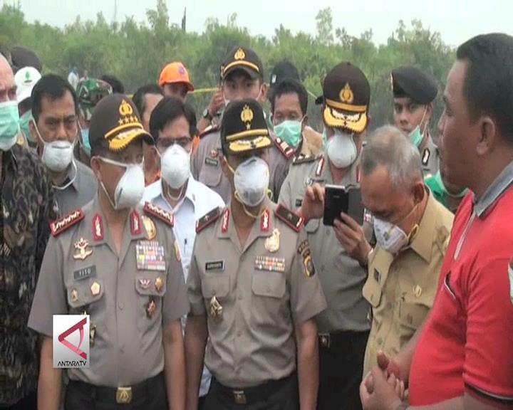 Kapolri Tinjau Ulang SP3 15 Perusahaan Pembakar Hutan