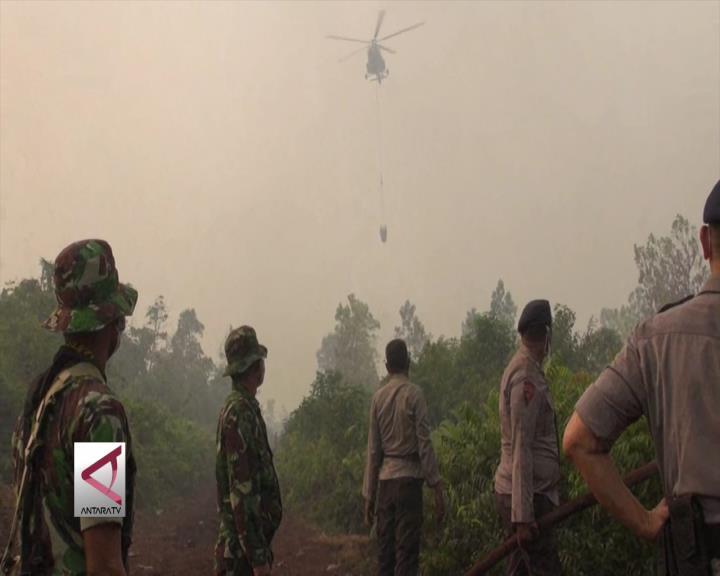 Karhutla Riau Meluas, BNPB Tambah 2 Helikopter
