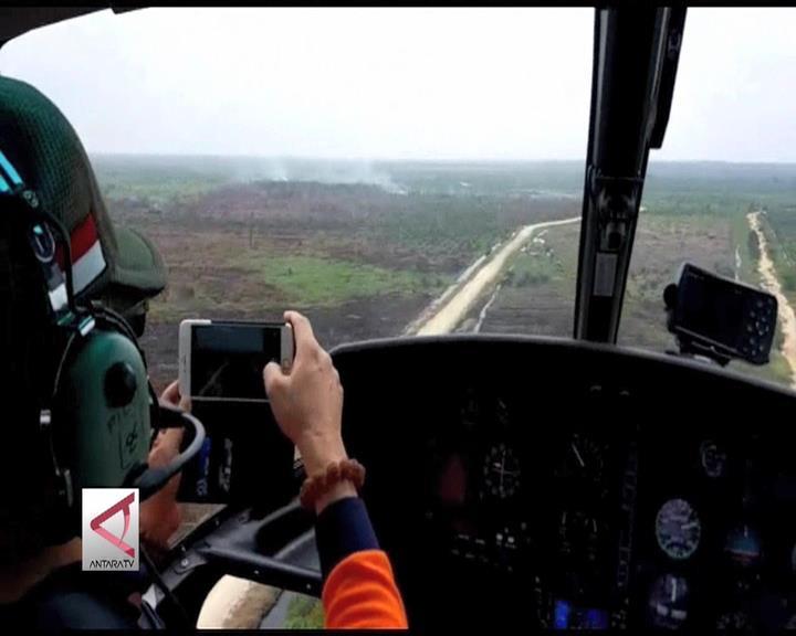 Titik Api di Riau Sudah Habis