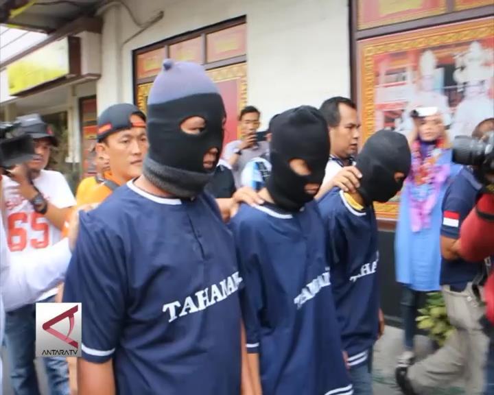 Polda Lampung Tangkap Gerombolan Begal