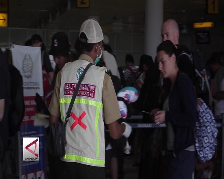 Bandara Lombok Awasi Penumpang dari Singapura