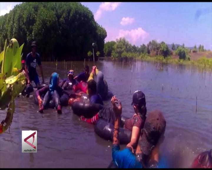 Menikmati Rimbunnya Hutan Bakau dengan River Tubing