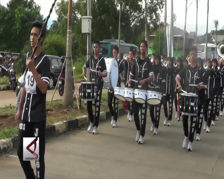 Drumband Cabor Berburu Medali Pertama