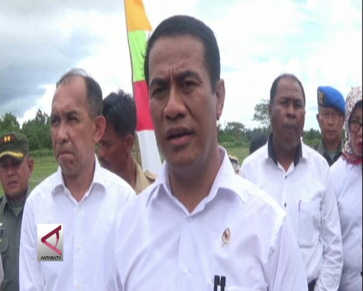 Mentan Targetkan Maluku Swasembada Pangan Pada 2017