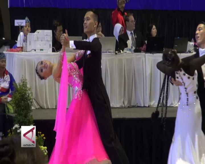 Jabar Dulang 2 Emas di Cabor Dance Sport