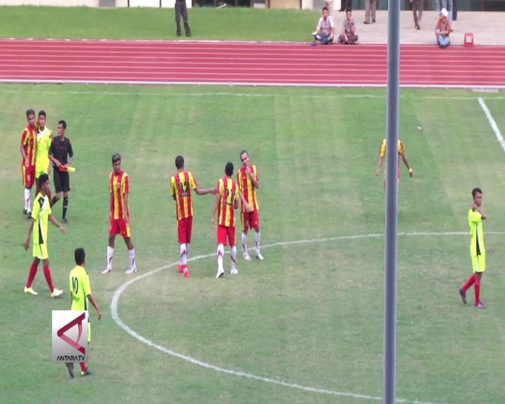 Tim Sepakbola Kalsel Kalahkan Sumut  2-0