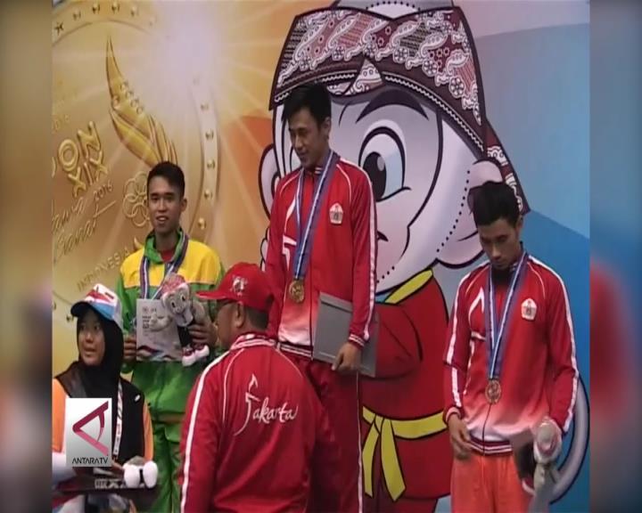 DKI Pimpin Sementara Perolehan Medali Wushu