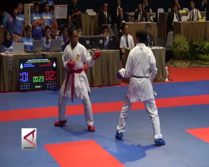 Papua Raih Emas dari Cabang Karate