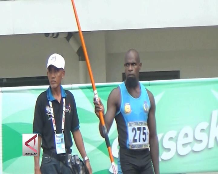 Atlet Papua Raih Dua Medali Lempar Lembing