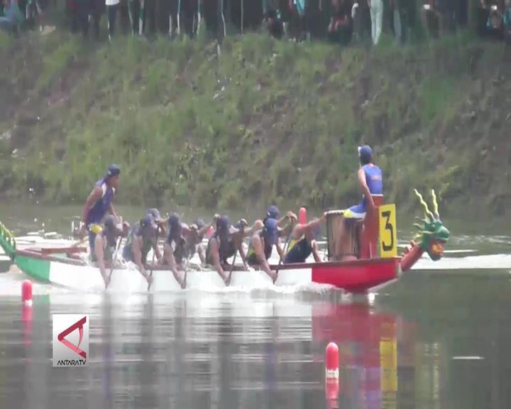 Jabar Borong 3 Emas di Final Perahu Naga