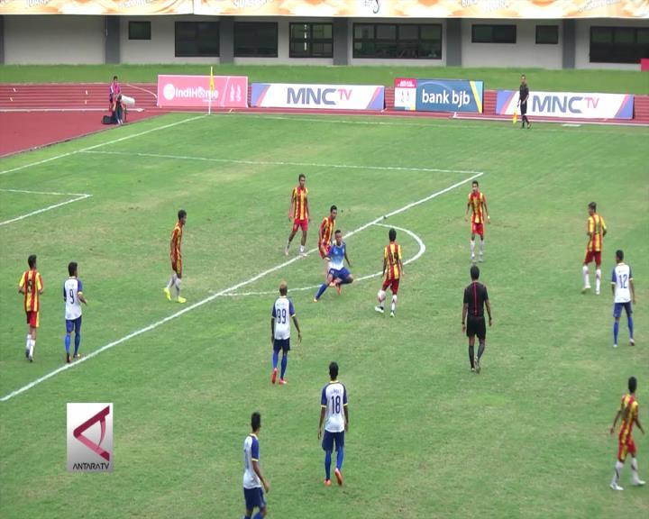 Tim Sepakbola Sumsel Tundukkan Kalsel