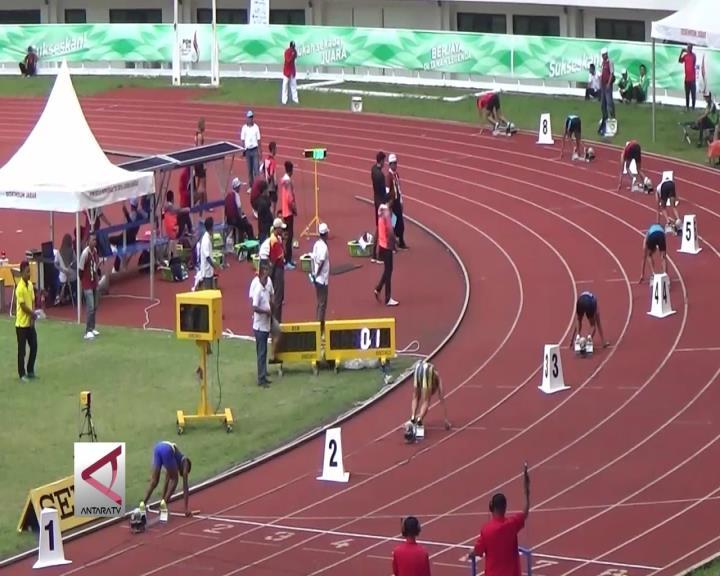 Atlet NTB Kembali Pecahkan Rekor Estafet PON