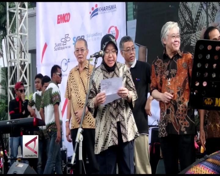 Pemkot Surabaya Jamin Kesejahteraan Petugas Kebersihan