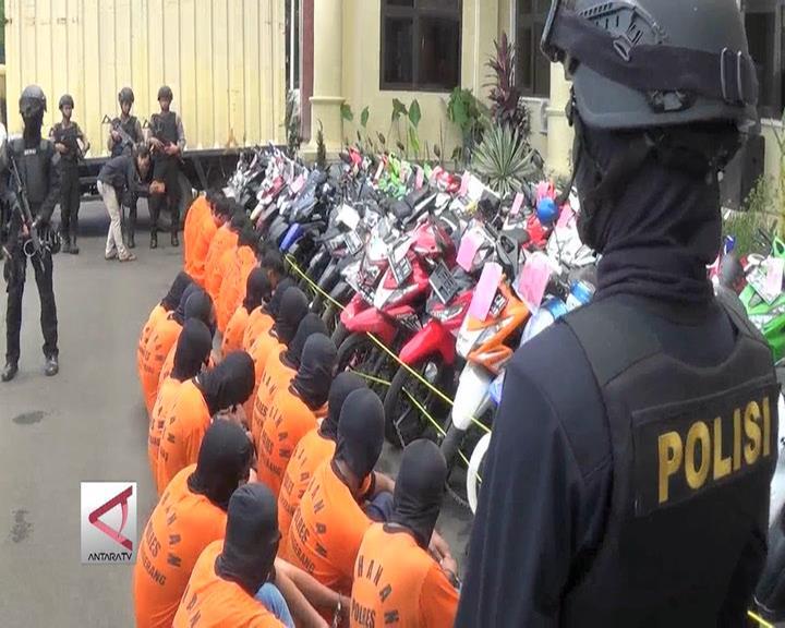 Polda Banten Bekuk Penjahat Curanmor