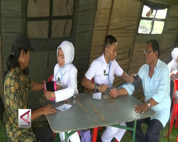2.300 Warga Berobat Gratis di Acara Bakti TNI
