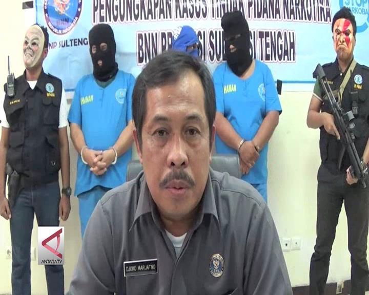 BNN Sulteng Tangkap Pria Malaysia Pembawa Sabu
