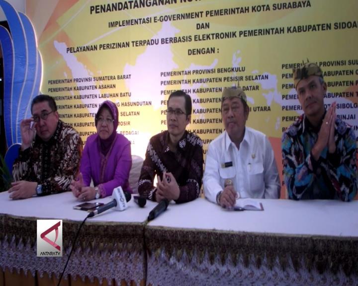 40 Kepala Daerah Adopsi E-Government Surabaya