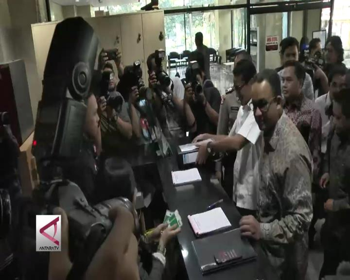Anies-Sandiaga Setor LHKPN ke KPK
