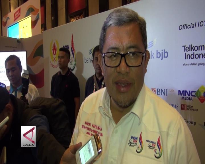 Gubernur Aher Nyatakan Jabar Juara Umum PON 2016