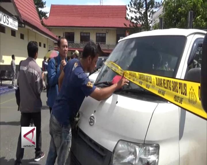 Polda Kalsel Sita 13 Mobil Bodong Hasil Kejahatan
