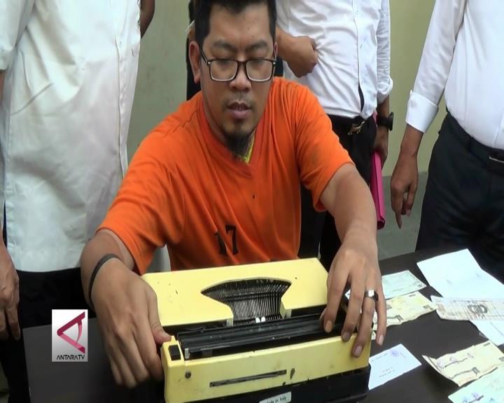 Polisi  Ungkap Pemalsuan STNK yang Dijual Secara Online