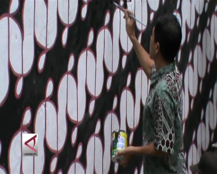 Mural Batik Meriahkan Hari Batik Nasional