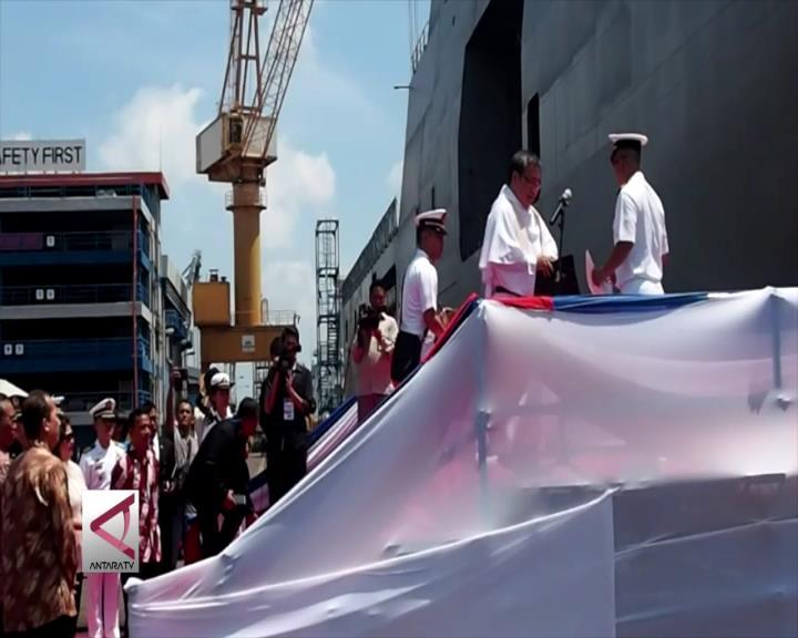 PT PAL Luncurkan Dua Kapal Perang
