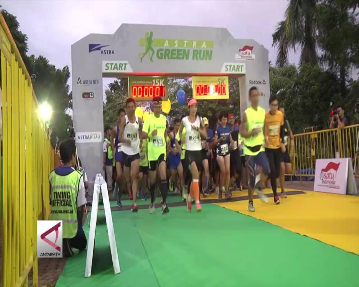 2.500 Pelari Ramaikan Astra Green Run 2016