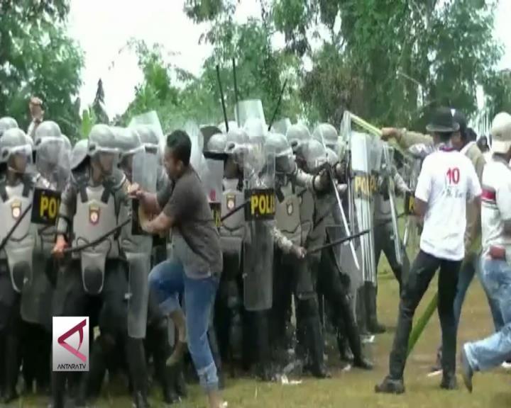 Polda Papua Simulasi Pengamanan Pilkada