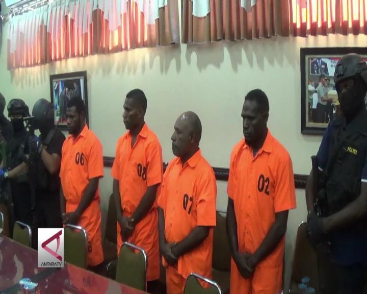 Polda Papua Tangkap Anggota Sipil Bersenjata