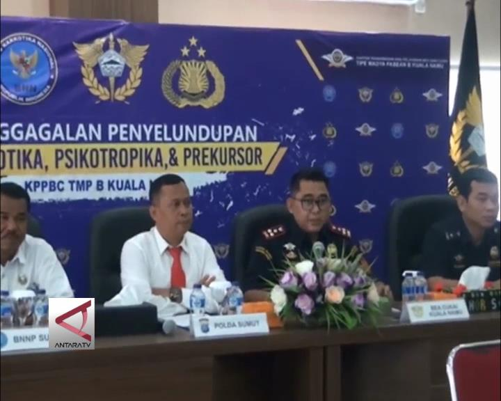 BC Bandara Kualanamu Gagalkan Penyelundupan Narkotika
