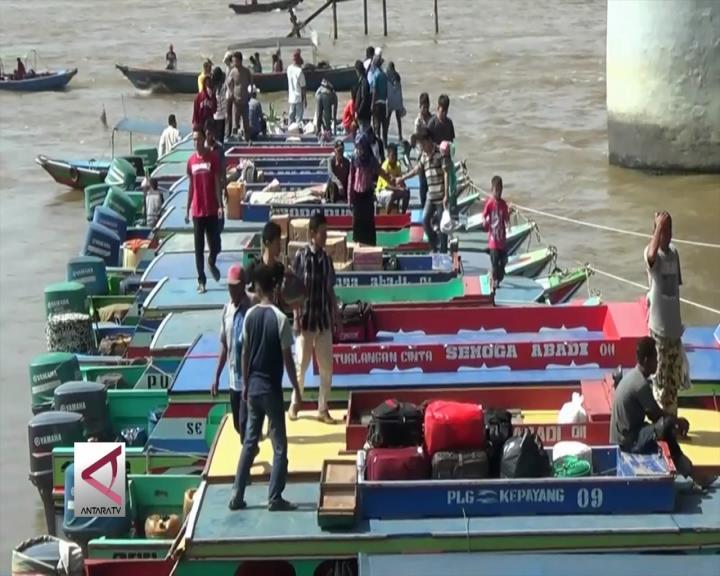 Per 1 November Aktivitas Sungai Musi Ditutup