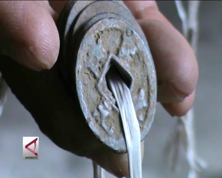 Warga Gunnungkidul Temukan Ribuan Keping Uang Kuno