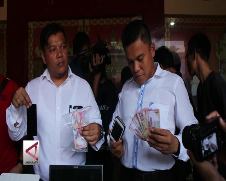 Polda Lampung Ungkap Sindikat Uang Palsu