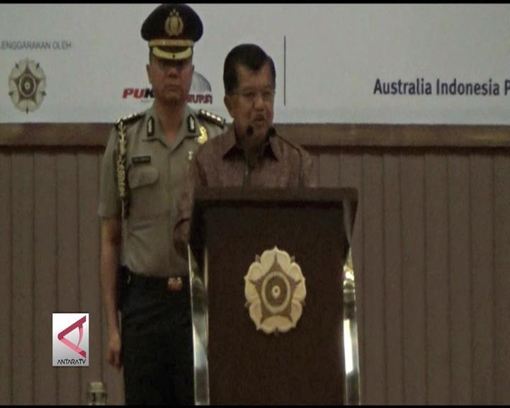 Wapres: Berantas Korupsi Berpusat ke Personal