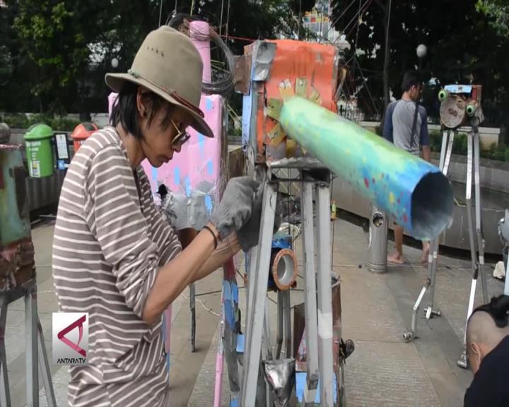 30 Jam Pemuda Bandung Berkarya Secara Kolosal