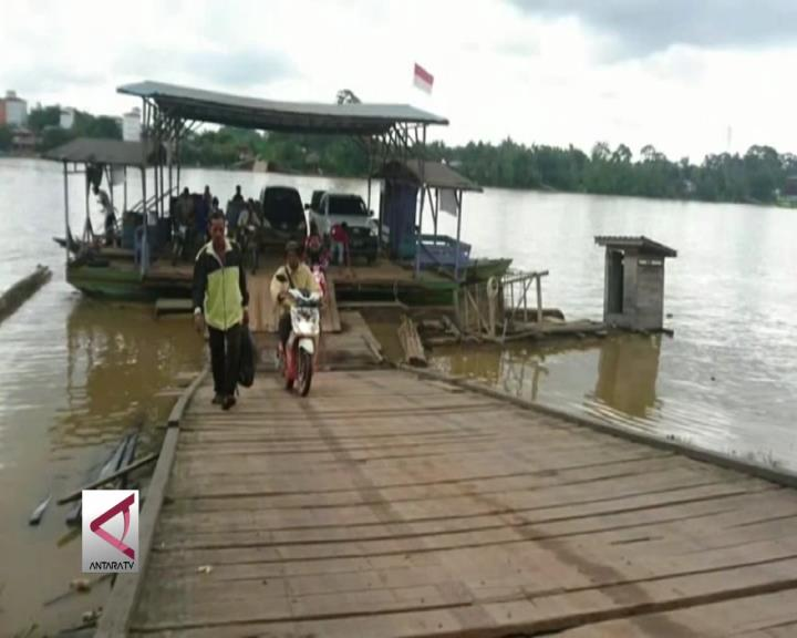 Feri Modifikasi Angkutan Sungai Samba