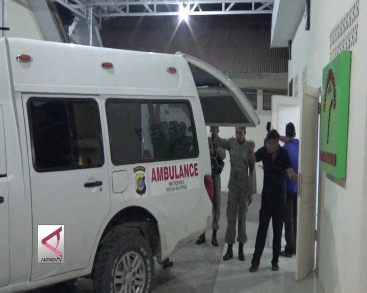 Jasad Teroris Tiba di RS Bhayangkara Palu