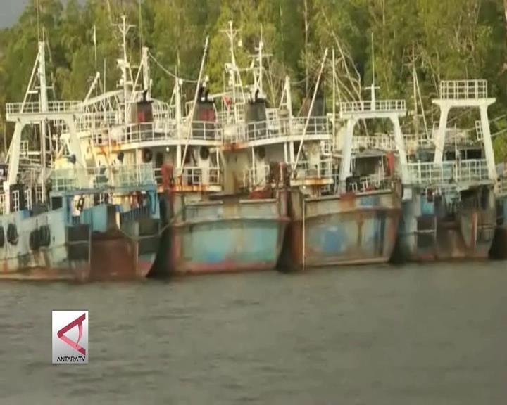 Kapal Eks Asing di Papua Terkena Dampak Moratarium