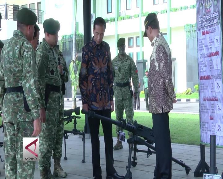 Presiden Berikan Arahan ke Prajurit Kostrad