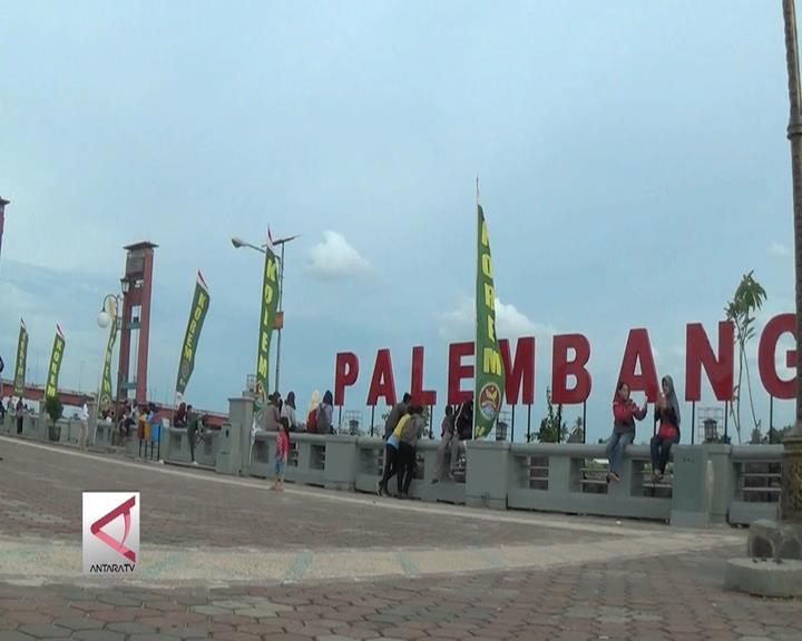 Palembang Bangun Ikon Kota Baru
