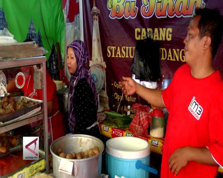 Aksi 212 Pedagang di DKI Jakarta Tetap Berjualan