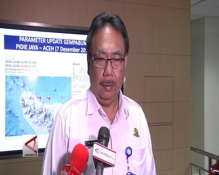 BMKG: Sesar Aktif Picu Gempa Aceh