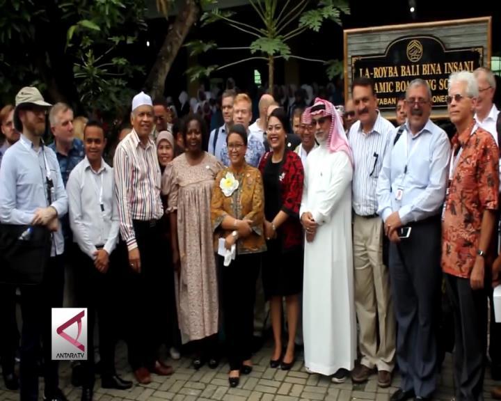 Delegasi BDF Kagumi Toleransi Pesantren di Bali