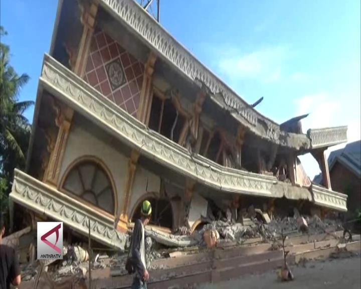 Sebanyak 49 Masjid Rusak Akibat Gempa