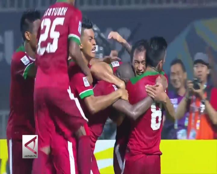 Semangat Timnas Indonesia Kalahkan Teknik Thailand