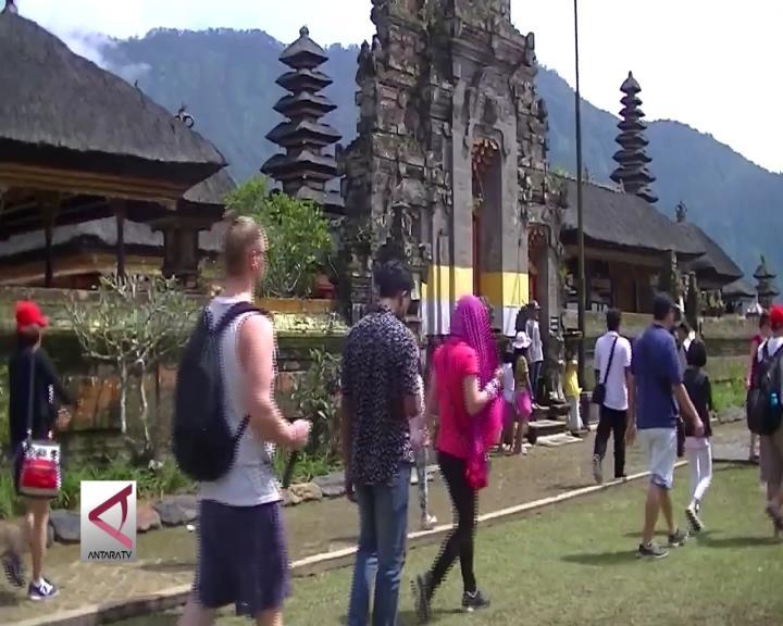 Obyek Wisata Bedugul Ramai Pengunjung